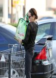 Teri Hatcher - in Tights at Whole Foods in Studio City, January 2014