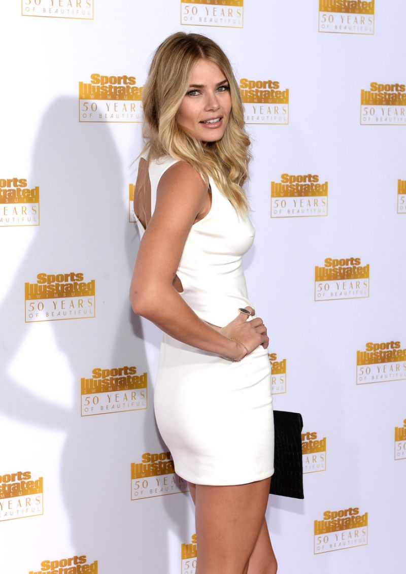 Tori Praver Attends 50th Anniversary of the SI Swimsuit Issue in Hollywood, January 2014