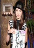 Troian Bellisario at NYLON Magazine Dinner, Los Angeles, January 2014