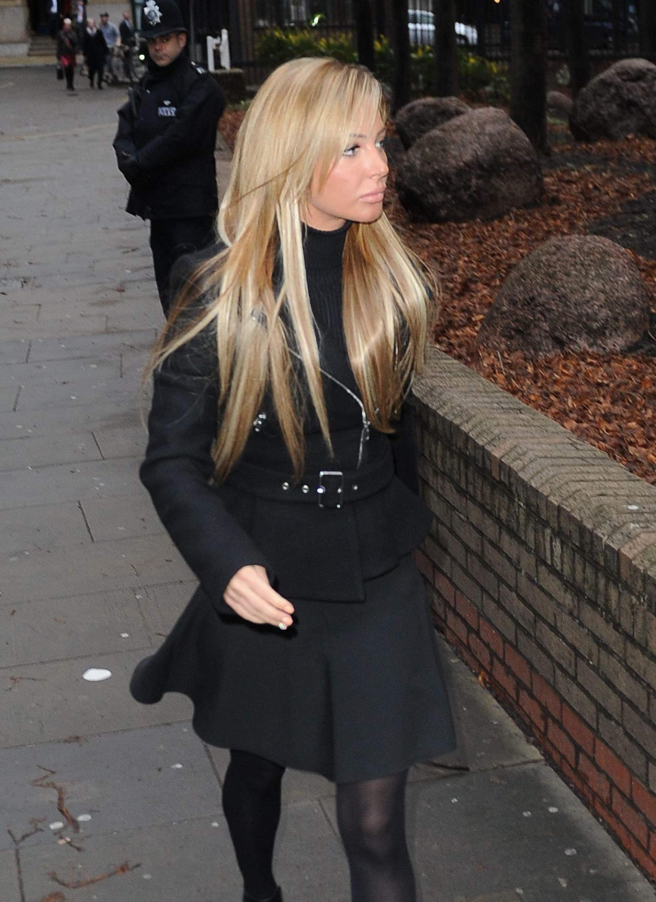 Tulisa Contostavlos  Arrives at Southwark Crown Court - United Kingdom January 9, 2014