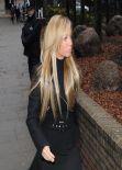 Tulisa Contostavlos  Arrives at Southwark Crown Court - United Kingdom January 9, 2014