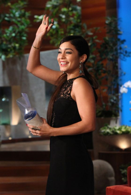 Vanessa Hudgens - On The Ellen DeGeneres Show - January 2014