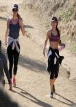 Vanessa Hudgens - out for a hike in Los Angeles, January 2014
