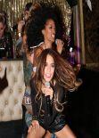 Vanessa Hudgens Performing at Bootsy Bellows - West Hollywood, September 2013