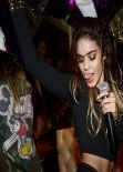 Vanessa Hudgens Performing at Bootsy Bellows - West Hollywood, September 2013