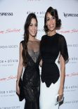 Vanessa Hudgens & Rosario Dawson at GIMME SHELTER Screening in New York, Jan. 2014