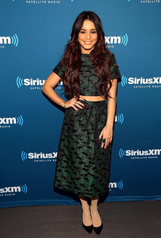 Vanessa Hudgens Siriusxm Studio In New York January 2014