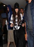 Vanessa Hudgens Street Style - at LAX Airport in LA - Jan 2014