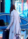 Vanessa Hudgens Street Style - Leaving the Gym, January 2014