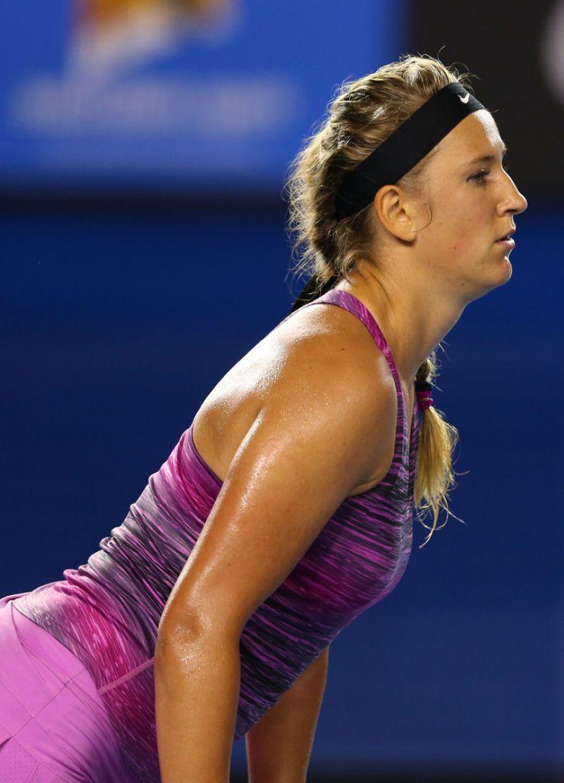 Victoria Azarenka Australian Open In Melbourne January
