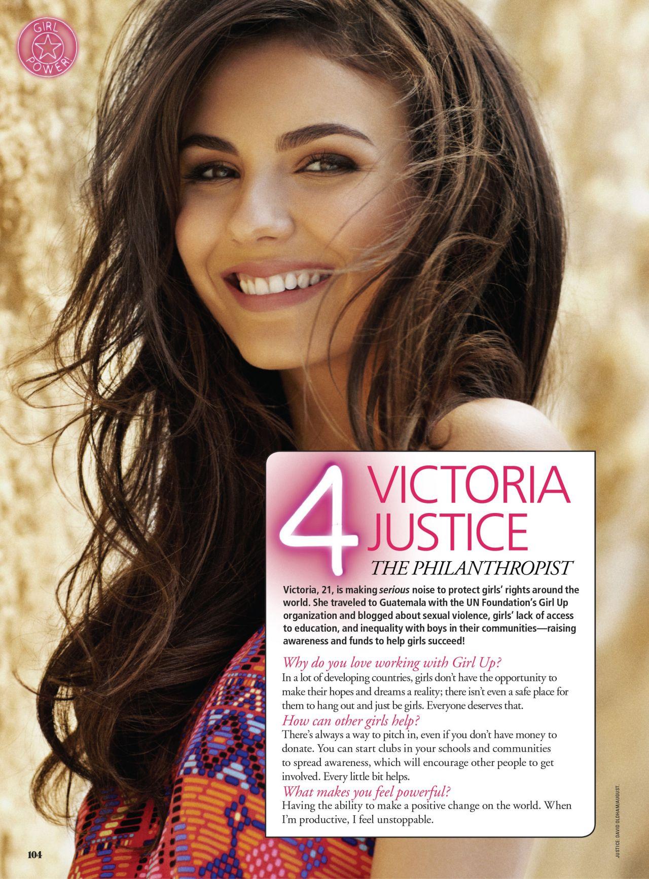 Victoria Justice - SEVENTEEN Magazine - March 2014 Issue