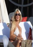 Victoria Silvstedt in Bikini St.Barts - January 2014