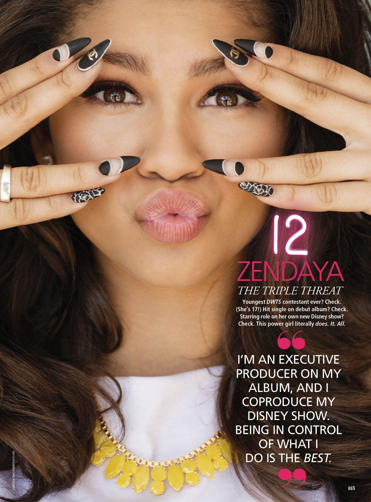 Zendaya Coleman - SEVENTEEN Magazine - March 2014 Issue