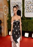 Zoe Saldana at 71st Annual Golden Globe Awards (2014)