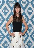 Zooey Deschanel Attends 2014 Fox All-Star Party in Pasadena