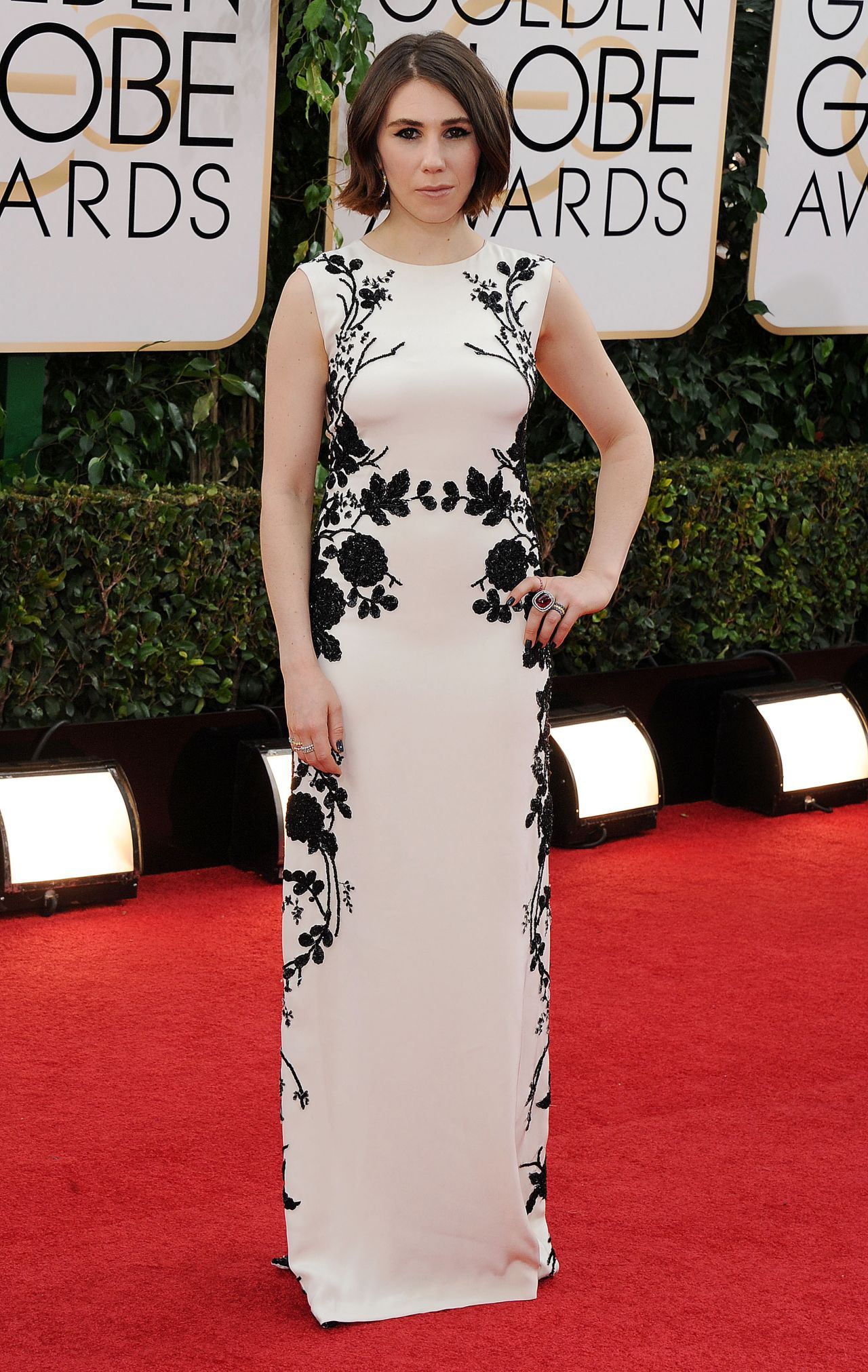 Zosia Mamet - 2014 Golden Globe Awards Red Carpet