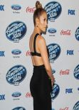Jennifer Lopez Wearing Cushnie Et Ochs Dress – 'American Idol' XIII Finalists Party