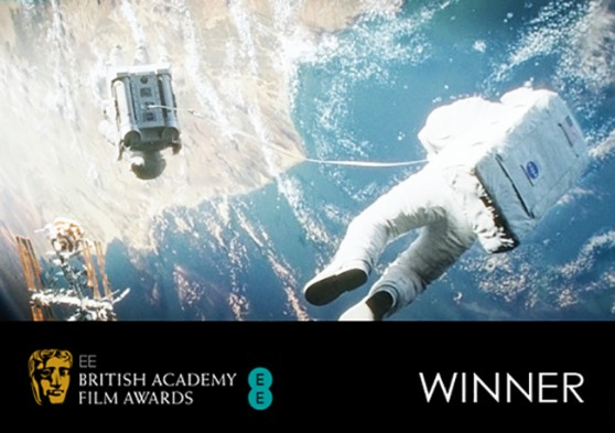 BAFTA 2014 Winner - Gravity
