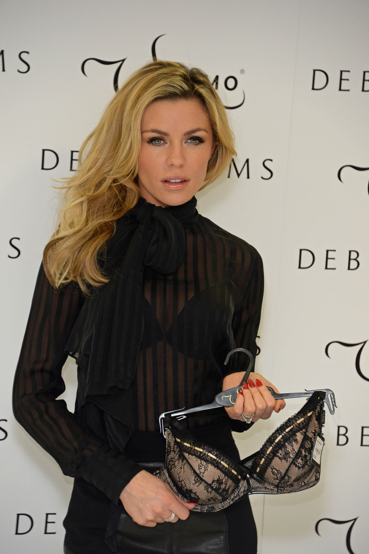 Abigail Clancy Promote The Ultimo Valentine S Collection