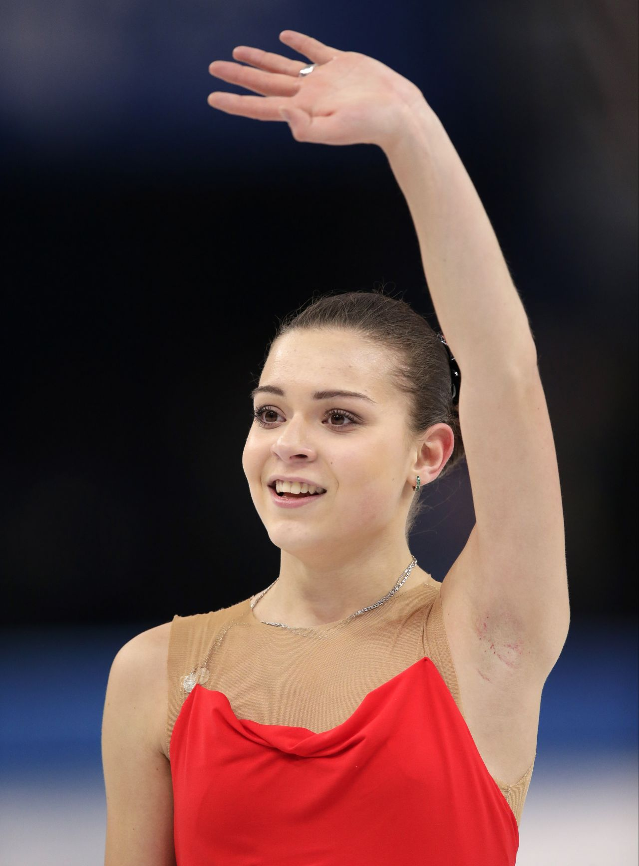 Adelina Sotnikova Ladies Short Program 2014 Sochi