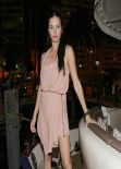 Adriana Lima at a Party hosted by Zeelander Yachts - Miami Beach, February 2014
