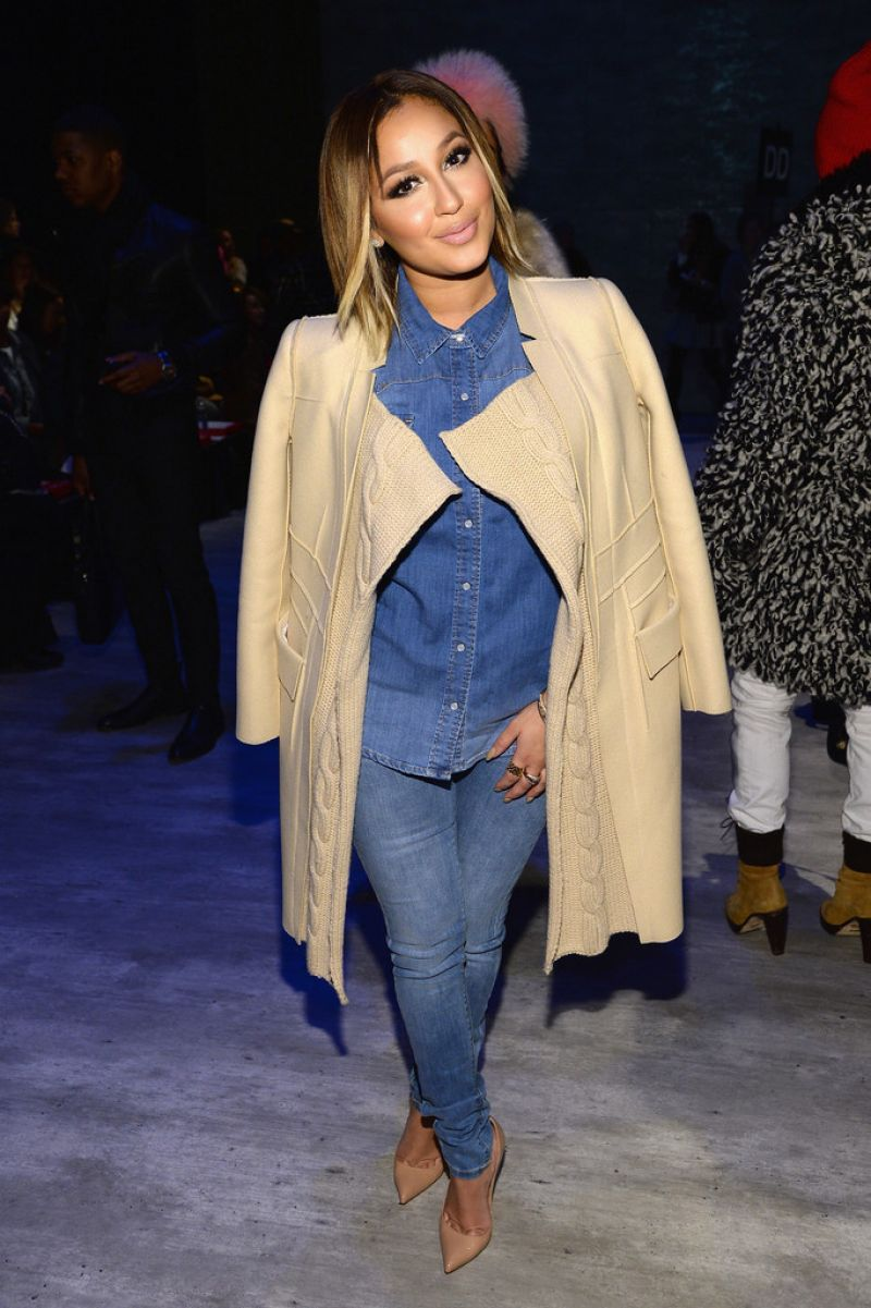Adrienne Bailon Son Jung Wan Fashion Show 2014 In New