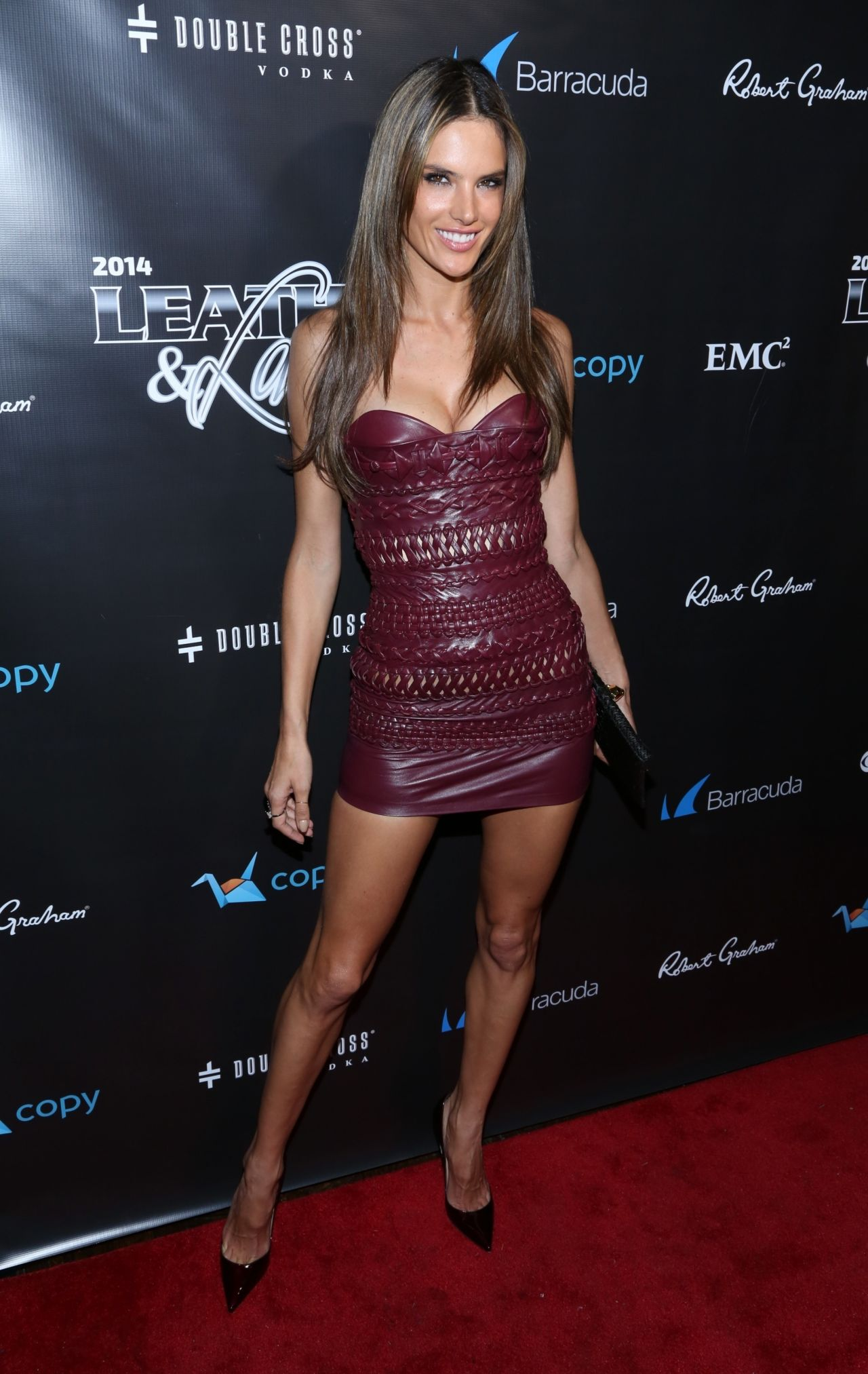 Alessandra Ambrosio Attends 2014 Leather Amp Laces Party