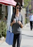 Alessandra Ambrosio - Caffe Luxxe Morning Coffee, February 2014