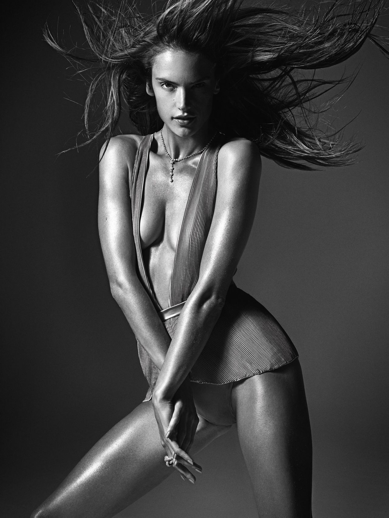 Alessandra Ambrosio - W Magazine - March 2014 - (by Mario Sorrenti)