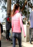 Alessandra Ambrosio Workout Style - Februray 2014