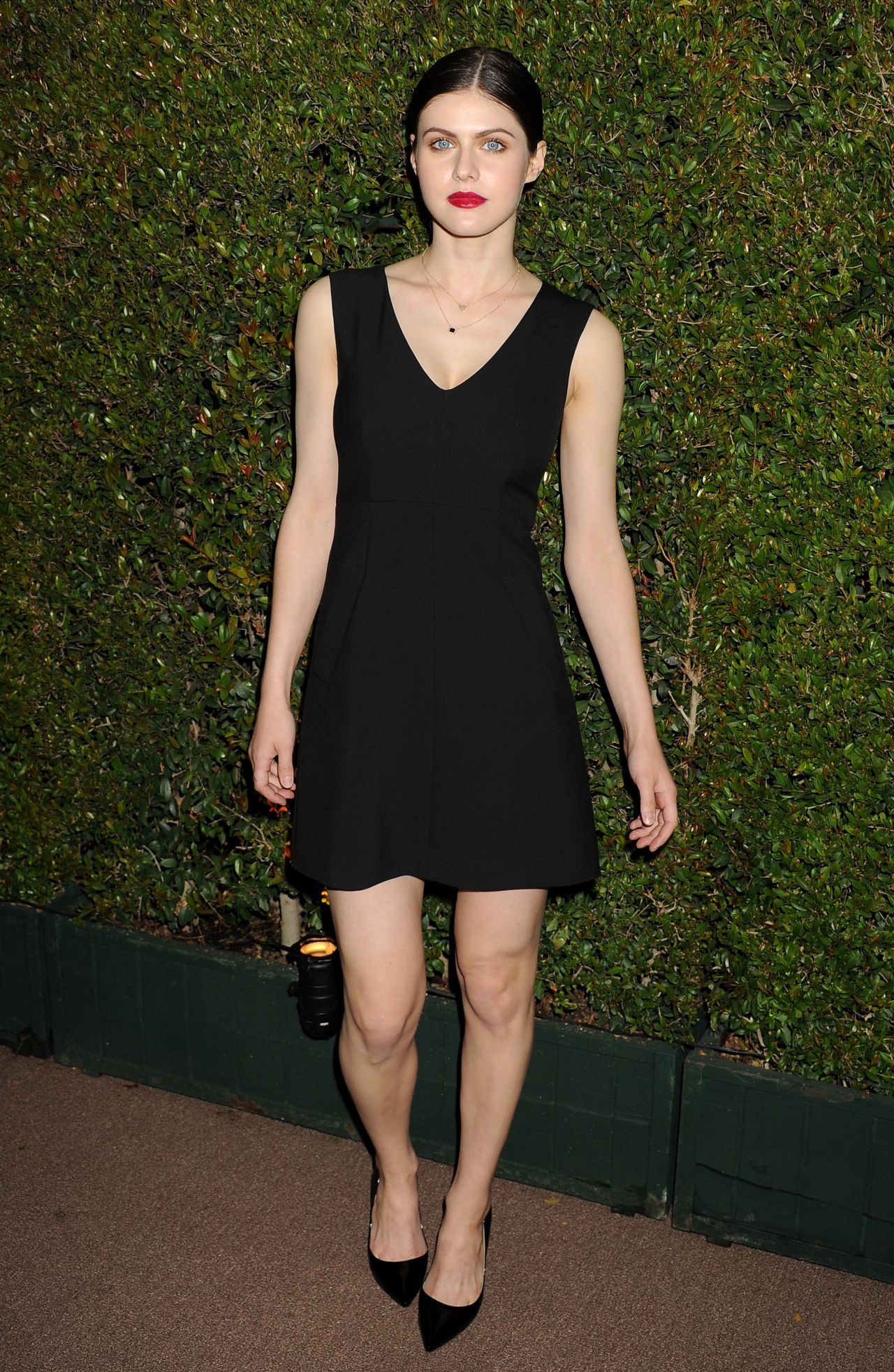Alexandra Daddario - Decades of Glamour Event in West Hollywood, February 2014