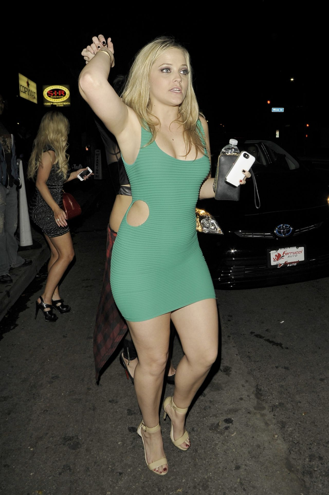 Alexis Texas Night out Style - Hollywood, February 2014
