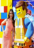 Alison Brie - THE LEGO MOVIE Premiere in Los Angeles