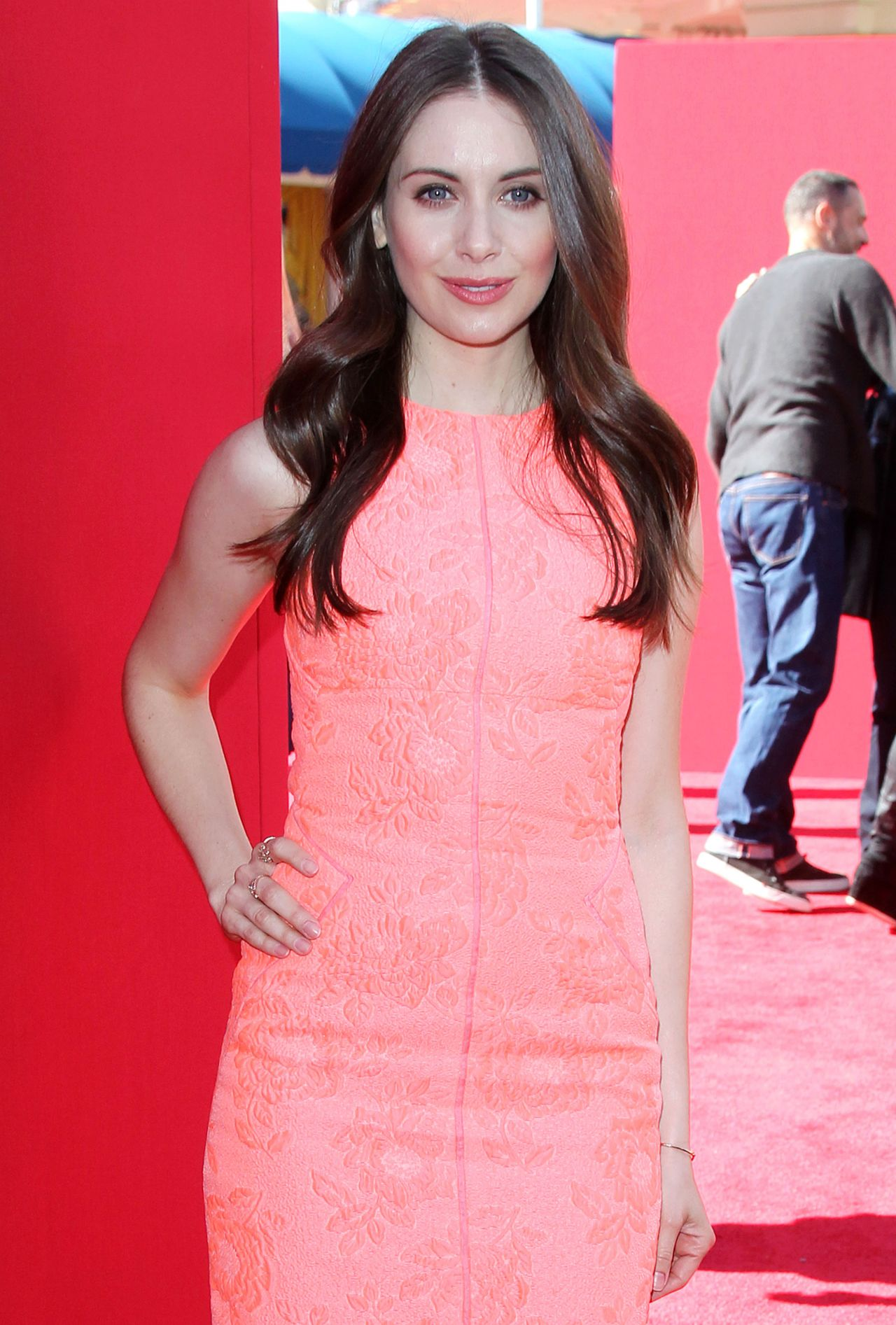 Alison Brie The Lego Movie Premiere In Los Angeles