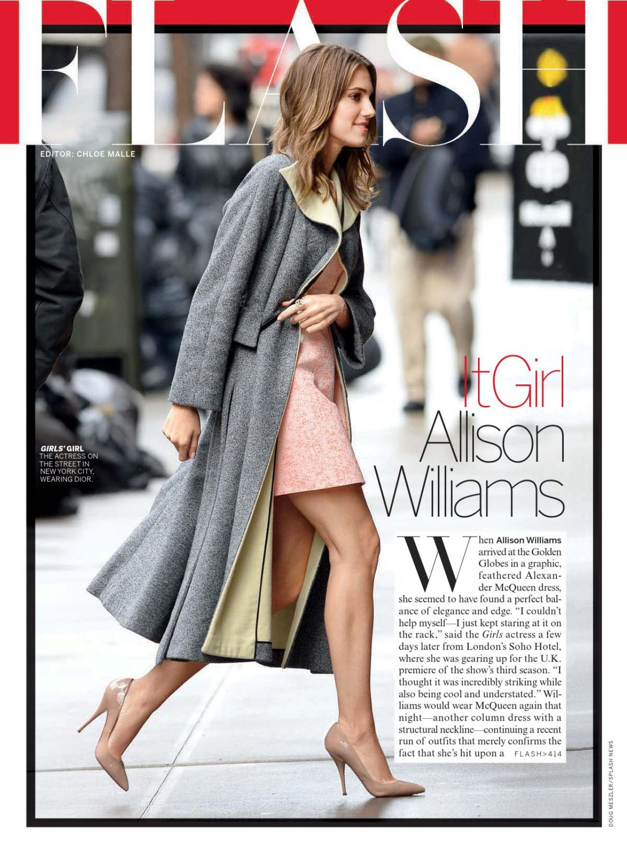 Allison Williams – Vogue Magazine (USA) – March 2014 Issue