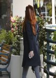 Alyson Hannigan Shopping in Brentwood - February 2014