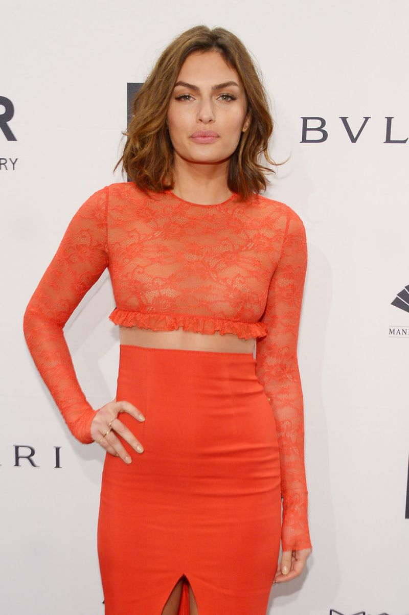Alyssa Miller - 2014 amfAR New York Gala