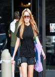 Amanda Bynes Gym Style - Thousand Oaks, February 2014