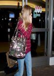 Amanda Seyfried Street Style - LAX Airport, February 2014