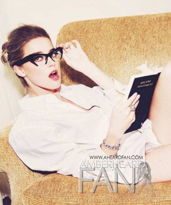 Amber Heard by Ellen Von Ünwerth for VANITY FAIR Magazine (France 2014)