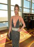 Amber Lancaster at 2014 WGA Ceremony