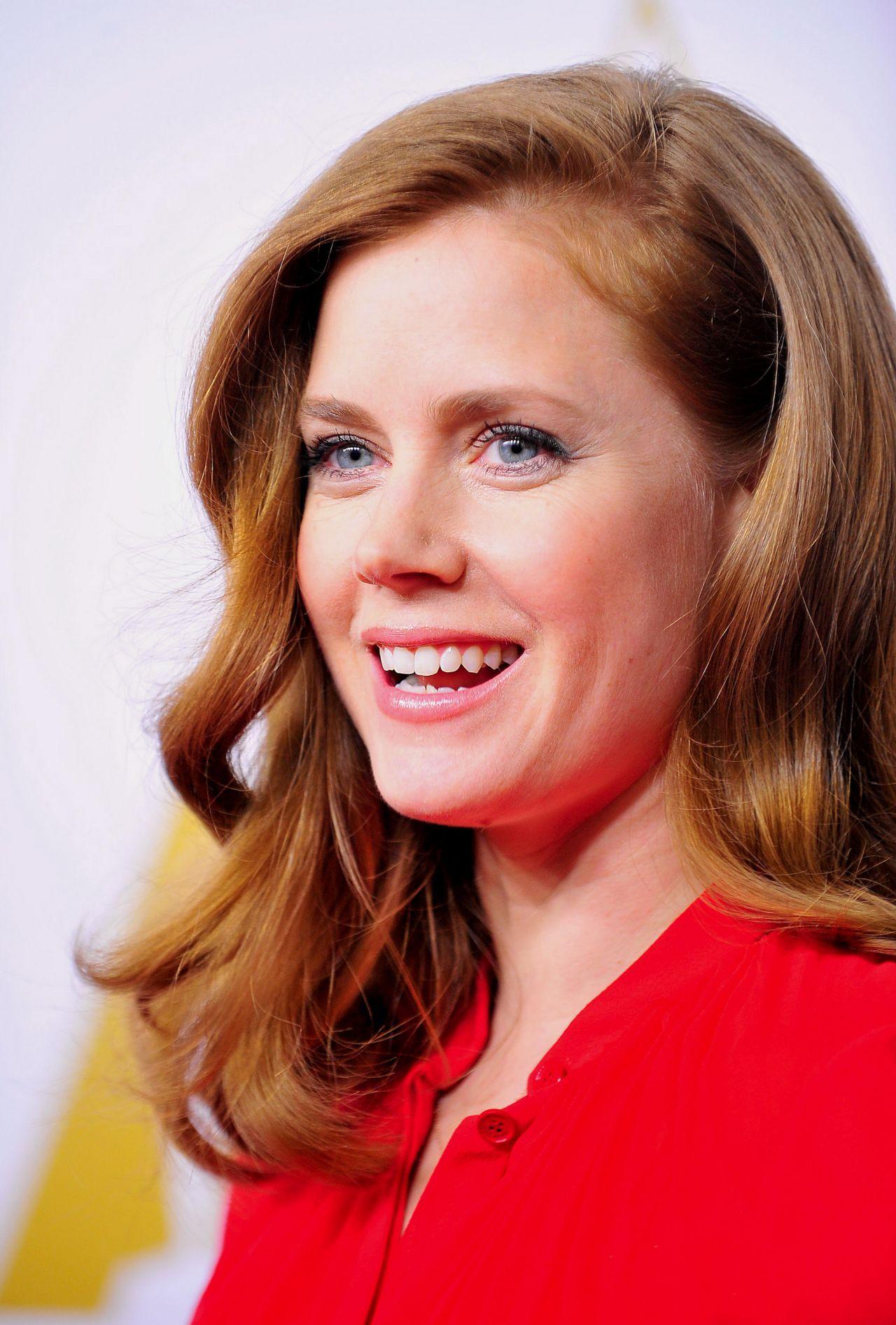Amy Adams Oscars Nominees Luncheon February 2014