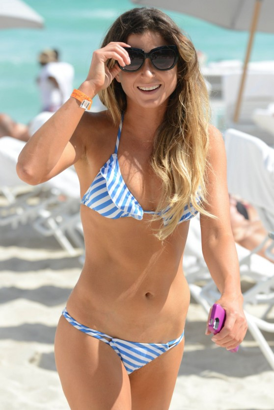 Anastasia Ashley in a Bikini – Miami Beach, February 2014
