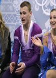 Andrea Davidovich - Sochi 2014 Winter Olympics - Pairs Short Program
