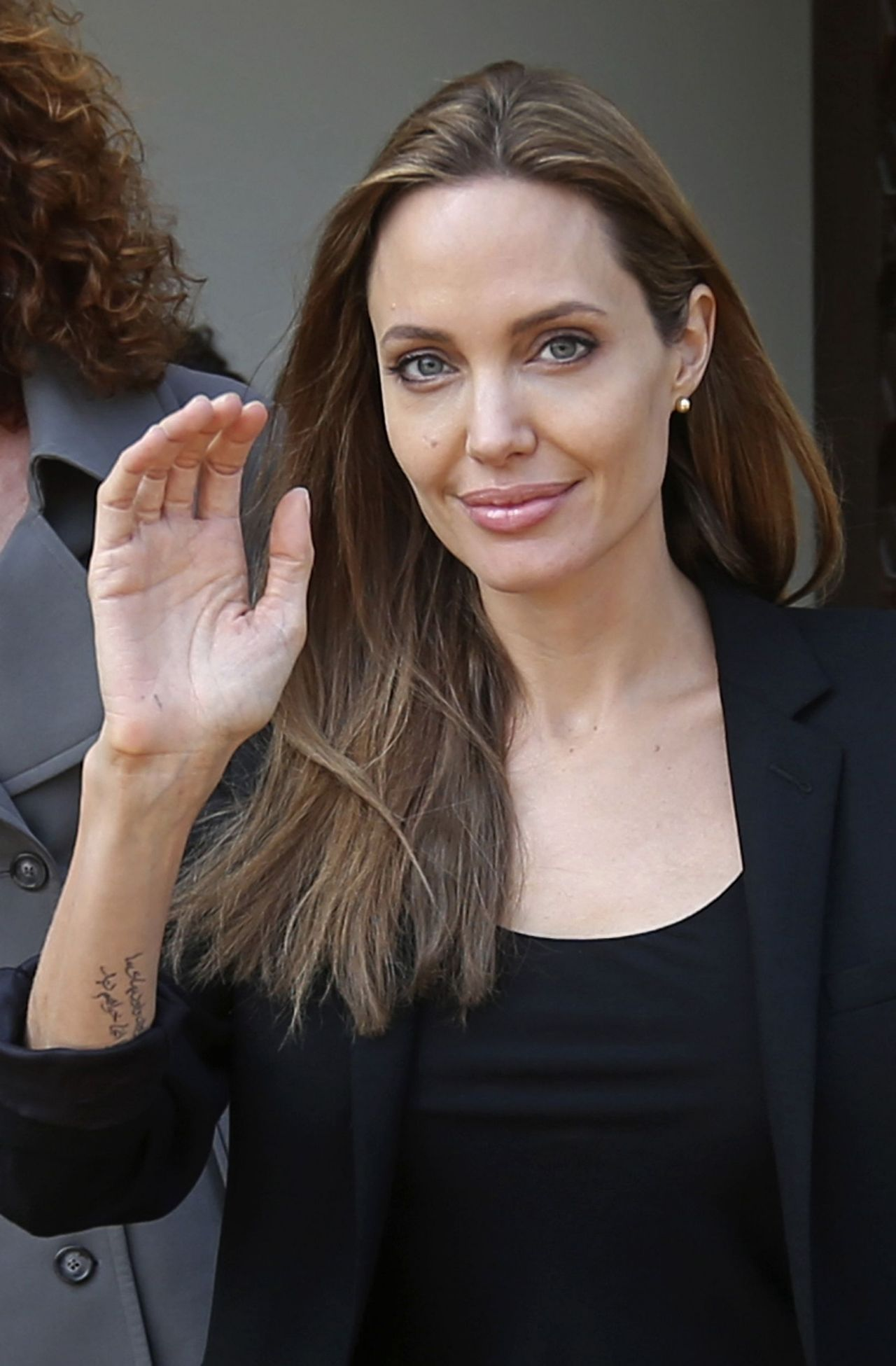 Angelina Jolie in Beirut - February 2014