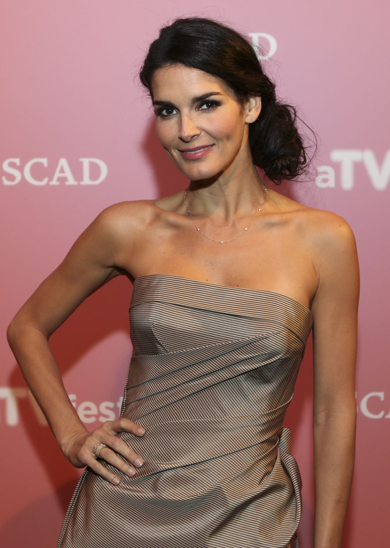 Angie Harmon At More Magazine September 2013: SCAD's ATVfest 2014 In Atlanta