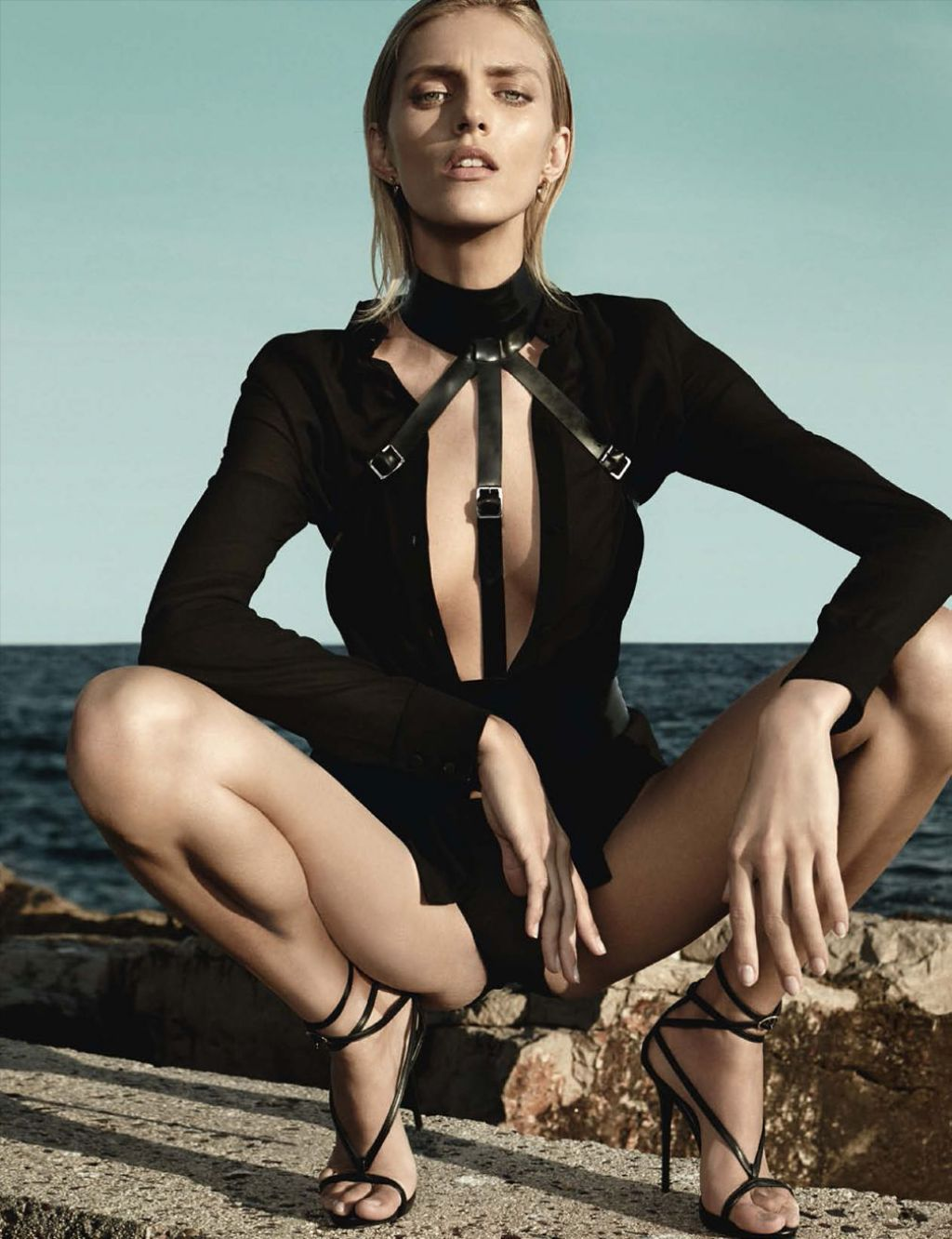 Anja Rubik - Vogue Magazine (Germany) - 2014 March Issue