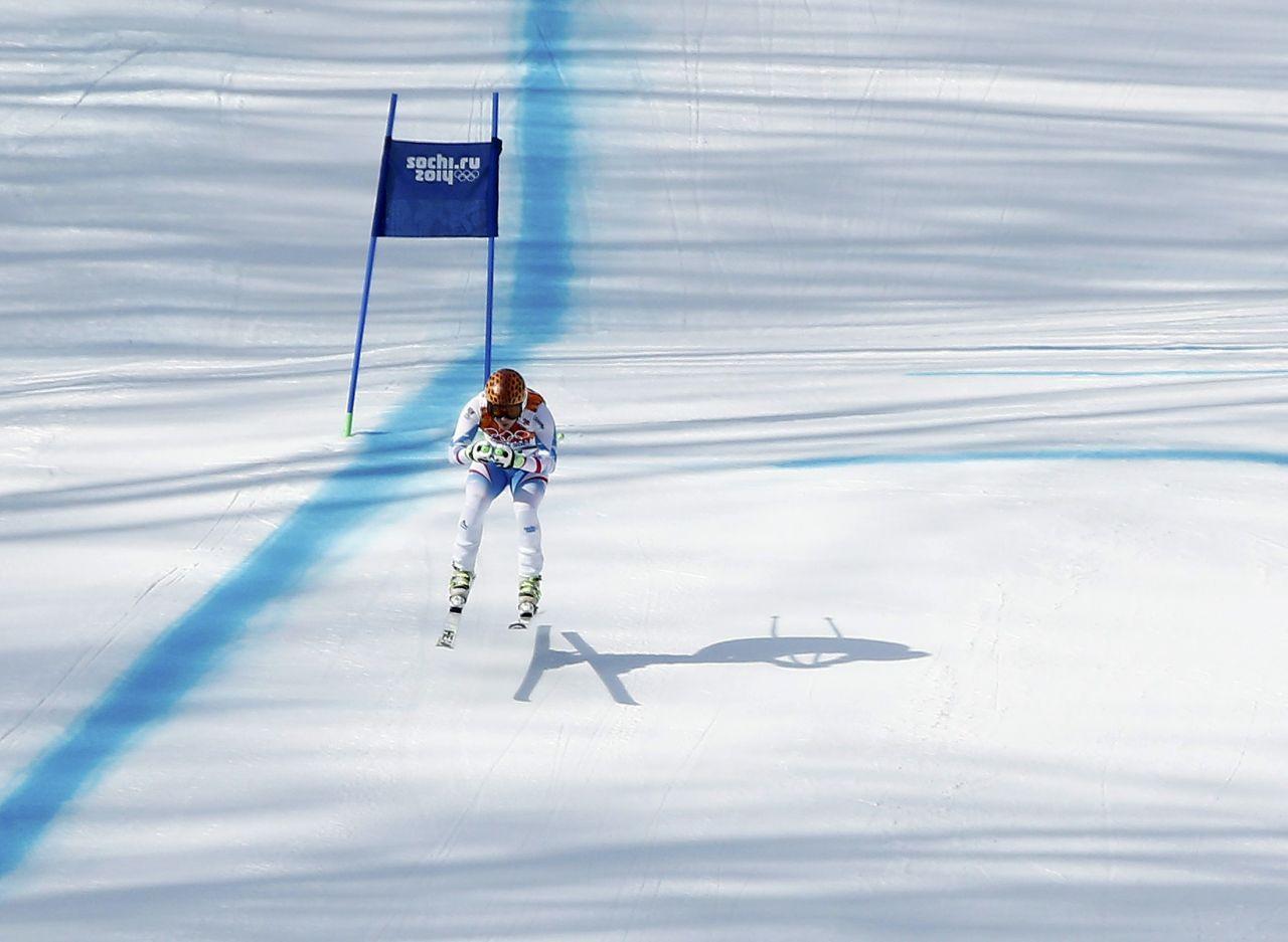 Anna Fenninger – Sochi 2014 Winter Olympics – Alpine Skiing-Ladies ...