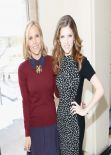 Anna Kendrick Attends Tory Burch Fashion Show in New York City, February 2014