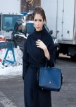 Anna Kendrick - Carolina Herrera Fall 2014 - Fashion Show in New York City - Feb. 10 2014